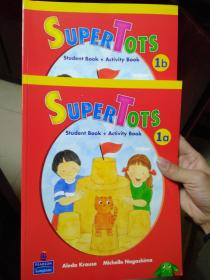 朗文Pearson英语Super Tots :1a1b (Student Book + Activity Book)