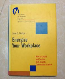 英文原版Energize Your Workplace