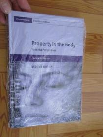 Property in the Body: Feminist Perspectives      (详见图),硬精装