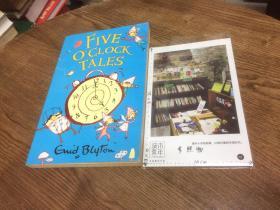 英文原版 Five OClock Tales 【存于溪木素年书店】