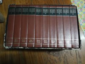 DASNEUE DUDEN LEXIKON(1-10)(德文原版,精装大32开彩印插图本,10卷全,原书盒)
