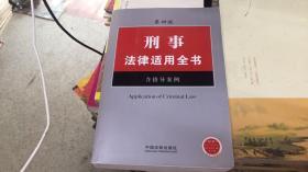刑事法律适用全书 含指导案例(第4版)