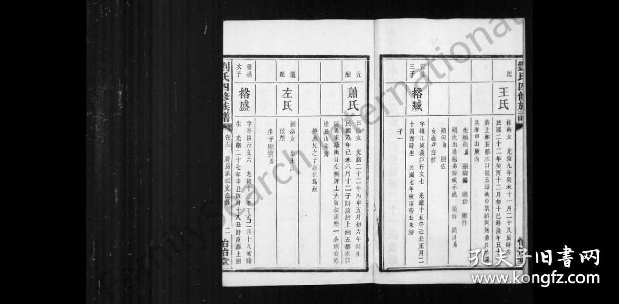 三舍刘氏六续族谱 [34卷,首1卷]