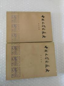 中国文学发展史(一 二两本合售)