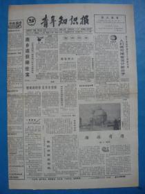 《青年知识报》1991.7.17。驻各地解放军官兵全力投入抗洪救灾。珍藏游览券。