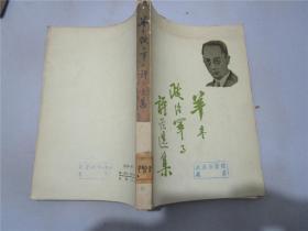 羊枣政治军事评论选集
