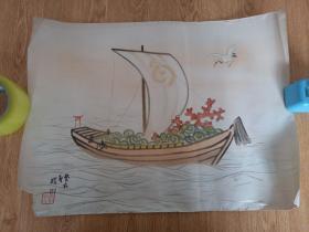 明治时期日本印刷《宝船图》1