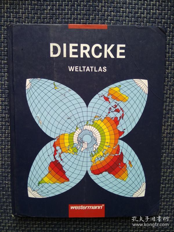 德国原版进口 迪尔克世界地图集 Diercke Weltatlas (German Edition) (German) Hardcover  – 2009