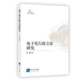 电子化行政立法研究