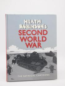 鲁滨逊的二战 英文欧美漫画书Heath Robinsons second world war 英文原版 W.Heath Robinson