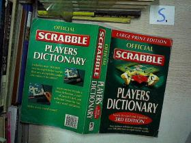 OFFICIAL SCRABBLE PLATERS DICTIONARY(英文字典).**