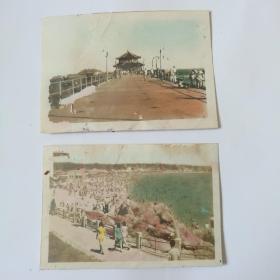 青岛市老照片两张