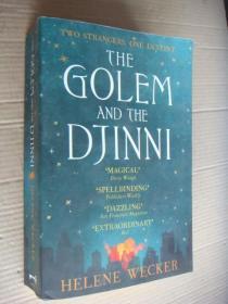 The Golem and The Djinni 英文原版大32开646P 近新 内容奇特