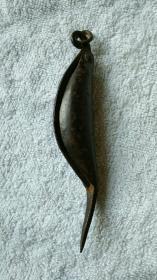 民国铁鱼刀,