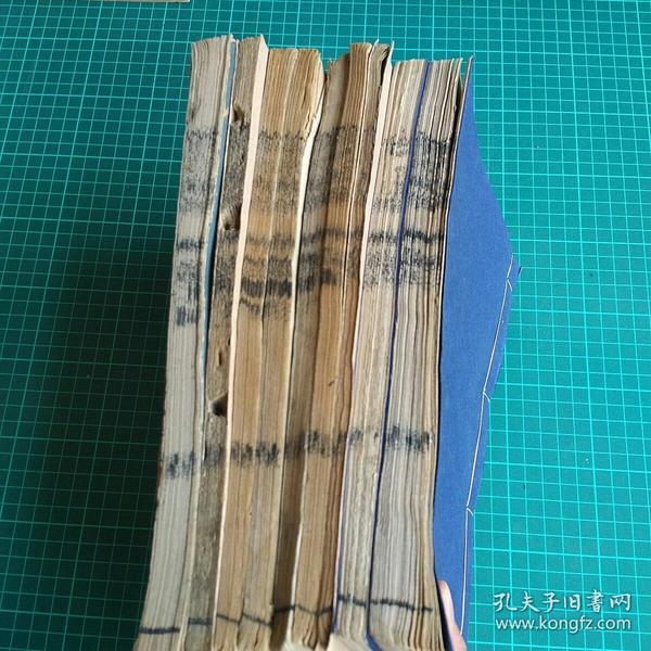 【4-3】《杜诗镜铨》成都望三益斋本,卷6-20,附录,共计8册!开本不一具体见描述!