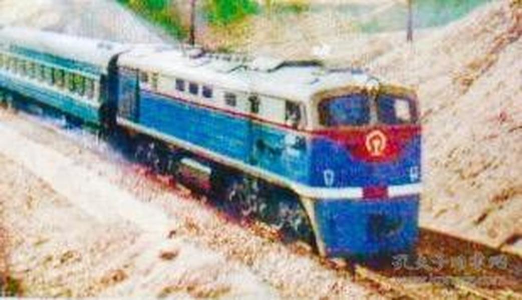 中国铁路 东风 1 型 内燃机车 老铁皮玩具版