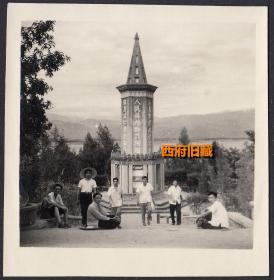少见,西昌革命烈士纪念塔老照片