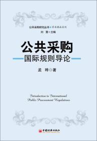公共采购研究丛书·学术精品系列:公共采购评论(第一辑)