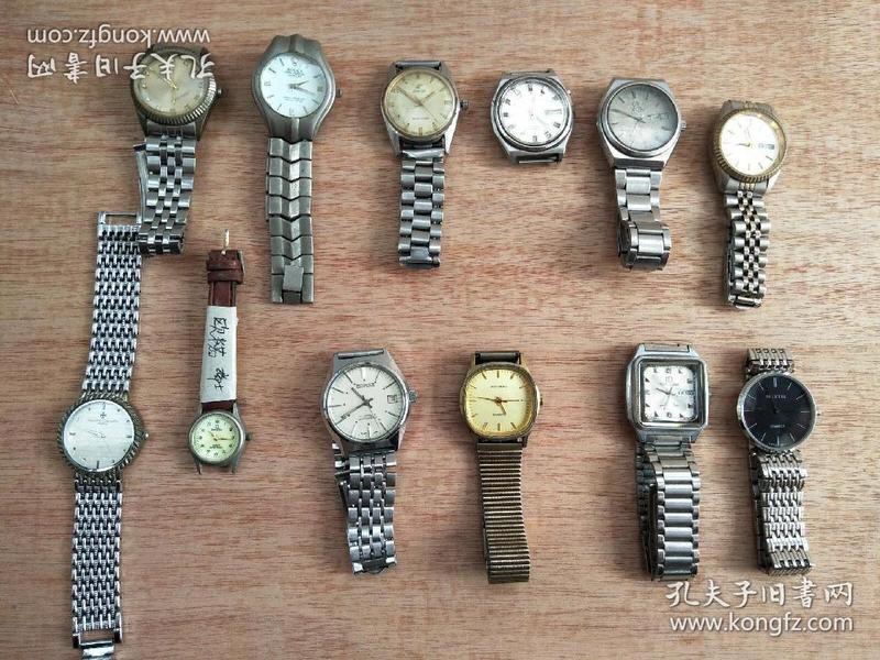 很多旧手表出让(有江诗丹顿,劳力士,英纳格,上海,广州,春蕾,金锚,双菱,上海梅花,海鸥,双狮等产品)