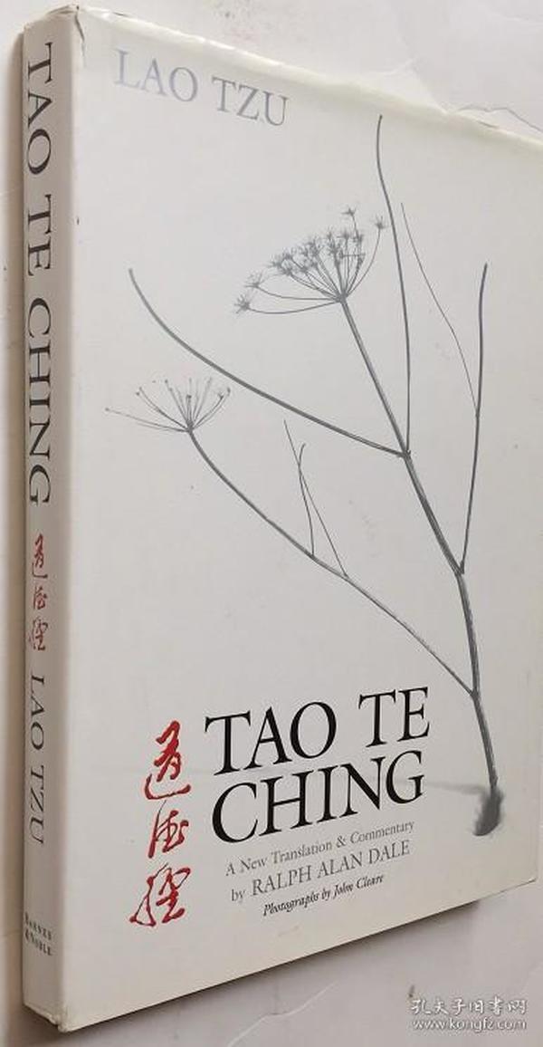 道德经老子 Tao Te Ching: A New Translation and Commentary 精装284页英文版