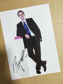 俞敏洪签名照