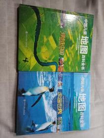 中国儿童地图百科全书【走遍世界+穿越中国】2本合售 8开精装