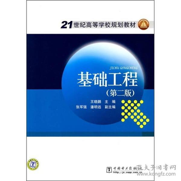 21世纪高等学校规划教材:基础工程(第2版)