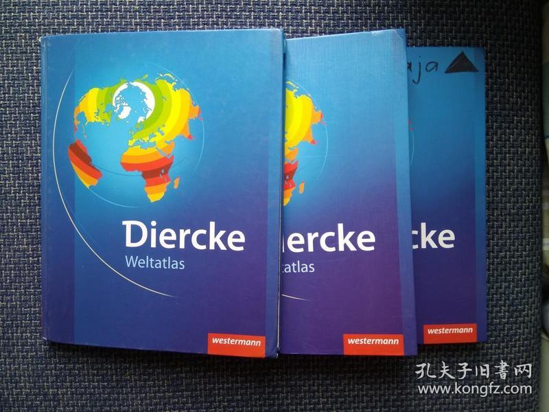 德国原版进口 迪尔克世界地图集Diercke Weltatlas Ausgabe 2008 (German) Hardcover