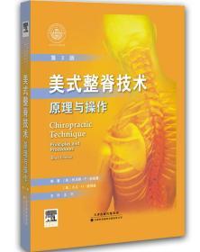 美式整脊技术:原理与操作(国外引进 中文翻译 第3版)
