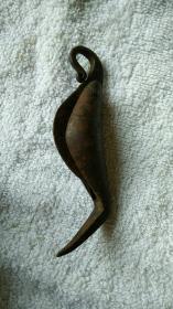 民国铁鱼刀(带字号)