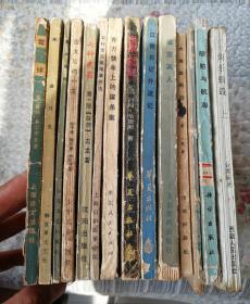 综合图书14册合售〈自然旧〉