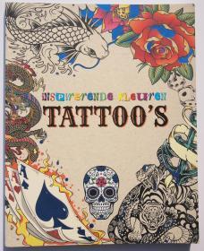 纹身素材 纹身图案着色填色本inspirende kleuren tattoos 荷兰语