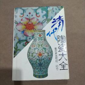 清代陶瓷大全-中国陶瓷大系之二-精装