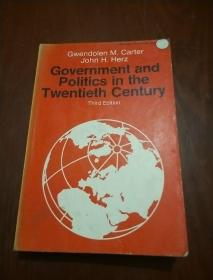 Government and politics in the Twentieth Century  -Third edition
