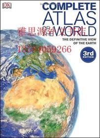 【包邮】Complete Atlas of the World, 3rd Edition