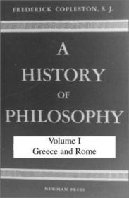 History Of Philosophy  Volume I: Greece And Rome