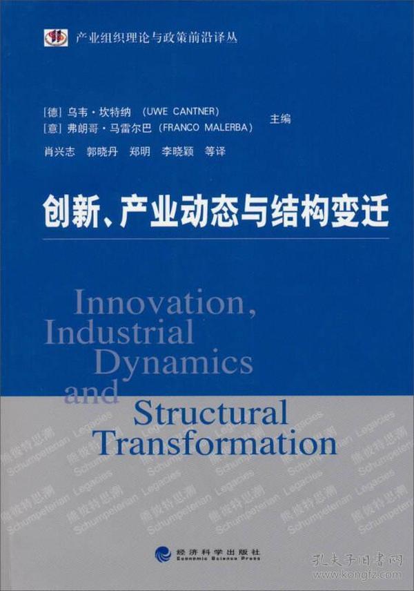 产业组织理论与政策前沿译丛:创新、产业动态与结构变迁