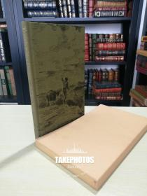 Travels with a donkey《驴背旅行》Stevenson 史蒂文森小说  Folio society 1990 年布面精装版