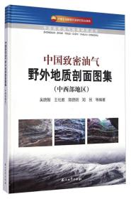 中国致密油气野外地质剖面图集(中西部地区)\9787518303076石油工业
