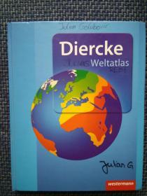 德国原版进口 迪尔克世界地图集 2015版 Diercke Weltatlas Ausgabe 2015 (German) Hardcover