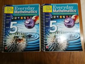 Everyday Math Grade 5, Vol. 1&2, Teachers Lesson Guide, Common Core State Standards 日常数学5年级,卷1和2,教师课程指南