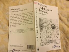 Les Infortunes de la Vertu (French)不幸的美德(法文版),