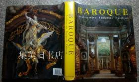 Baroque: Architecture, Sculpture, Painting 内页有缺少4张计8页见描述。