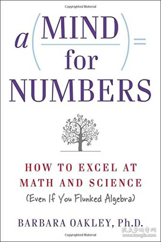 A Mind For Numbers:How to Excel at Math and Science