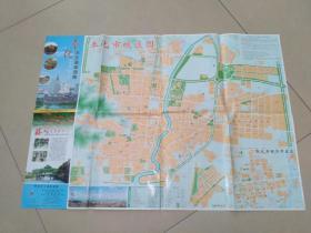 奉化市交通旅游图2009年一版2印