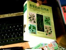32开精装本:青草药彩色图谱 书九品    护封八五品左右         D6