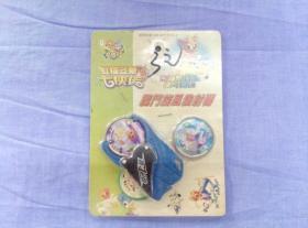 怀旧玩具 虹猫蓝兔 亮银超合金战斗圆牌 战斗旋风发射器