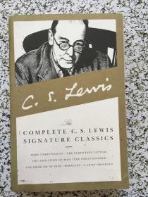 The Complete C. S. Lewis Signature Classics 毛边本  k151