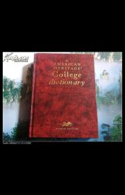 The AMERICAN HERITAGE College dictionary(第4版)