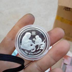 外国2016年银猴币